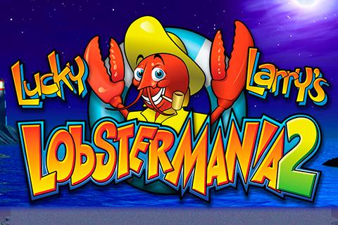 logo lucky larrys lobstermania igt